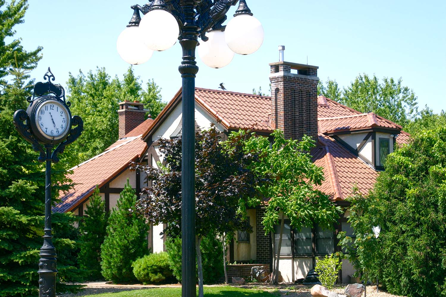 aged copper metal mediterranean tile roof midwest-1