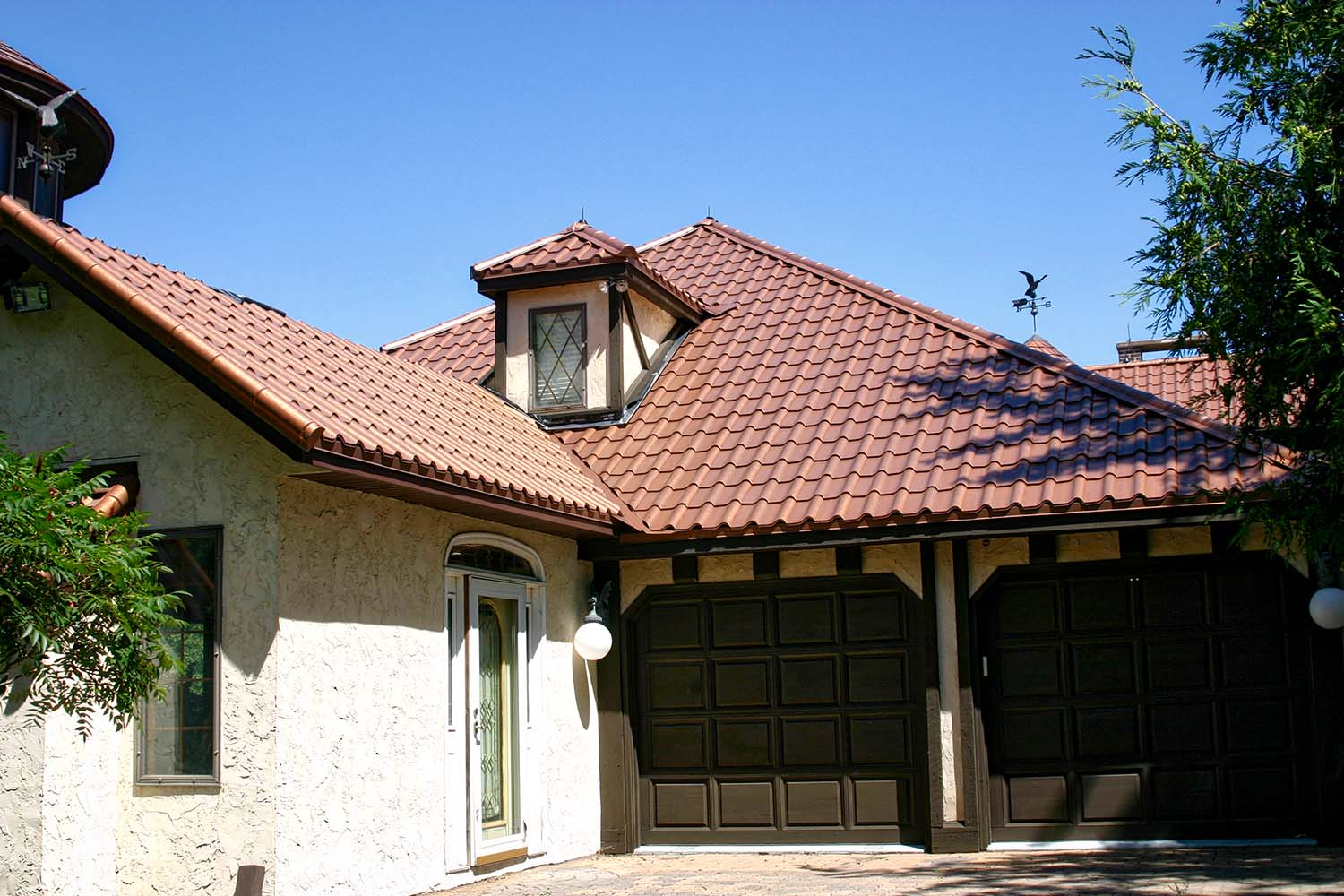 aged copper metal mediterranean tile roof midwest-3