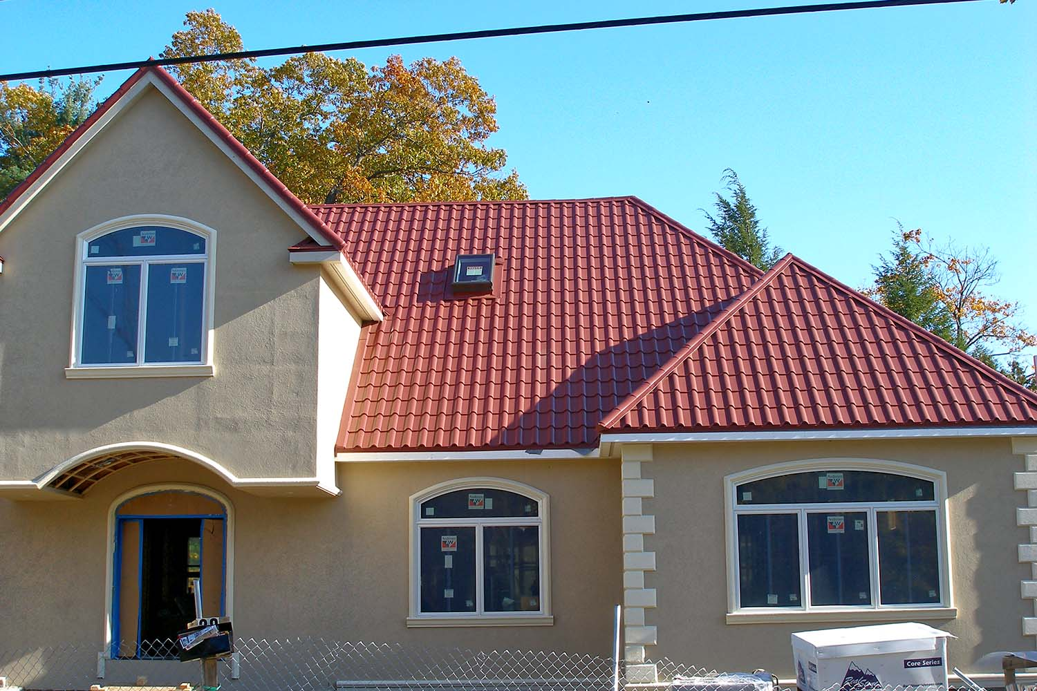 tile red metal mediterranean tile roof new england-2