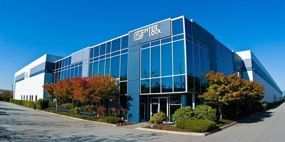 Interlock Roofing Head Office in Delta, BC
