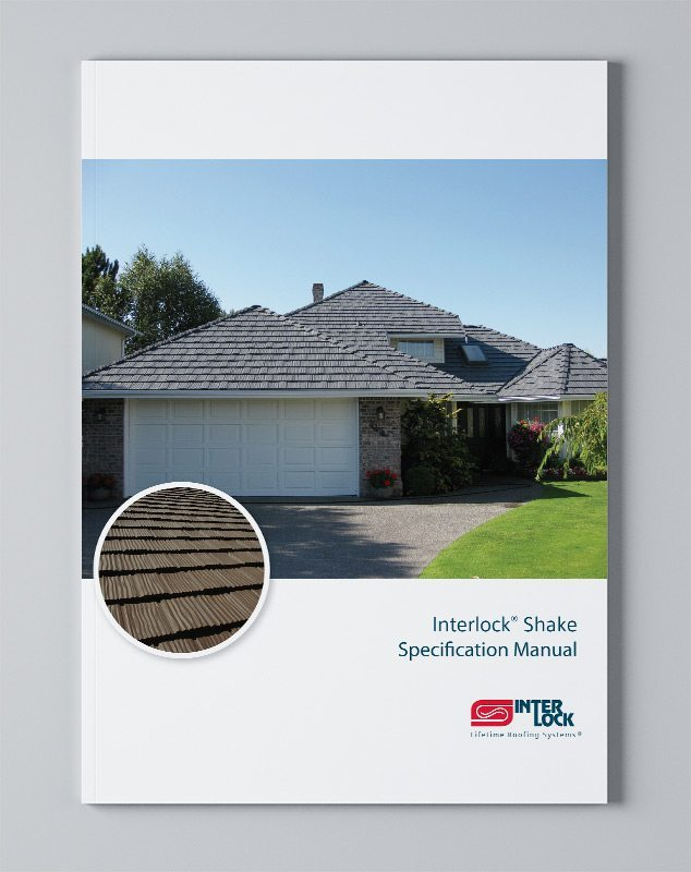 Specification Manual Shake Roof